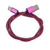 USB3.1 Type-c neuf câble de remplissage rapide de chargeur de caractéristiques avec le nylon