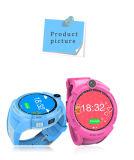 Runde Kinder GPS-intelligente Uhr mit PAS-Kamera-Taschenlampe