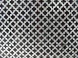 Feuille perforée en aluminium enduite par PVDF utilisée pour le revêtement de mur rideau ou le panneau de plafond