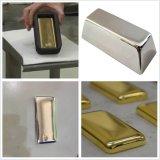 De aangepaste Zilveren Gouden Machine van het VacuümAfgietsel van de Partij van de Staaf Pallaudium 1kg 4kg