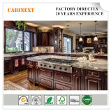 Bisiniの贅沢な家具の純木の台所島の収納キャビネットは工場指示する