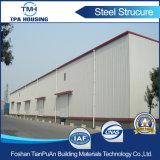 큰 경간 조립식 강철 구조물 산업 강철 구조물