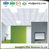 Haute qualité matériaux décoratifs en aluminium perforé Perforation plafond avec la norme ISO9001