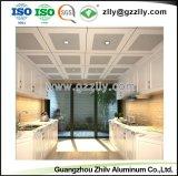 Material decorativo furação de alumínio tecto perfurado com a norma ISO9001