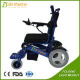 180kg Capacidad de carga Portable Folding Disabled Electric Power Silla de ruedas