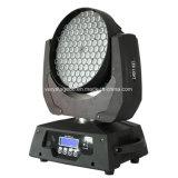 108 Stücke 3W LED bewegliche Hauptereignis-Beleuchtung-