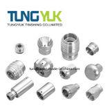 Parti di alluminio lavoranti di precisione di CNC usate sulle parti mediche
