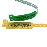 De de waterdichte VinylArmband van pvc RFID/Manchet van de Stof voor Toegangsbeheer