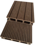 Madeira Oco Fire-Retardant Easily-Installed deck composto de plástico para uso externo