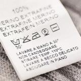 Дешевым изготовленный на заказ ярлыки напечатанные высоким качеством для одежды
