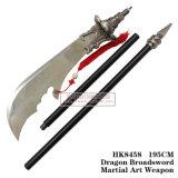 Зеленый Дракон Полумесяца Луны Blade Гуань Юй, меч 195см HK8458