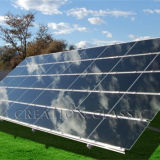 超明確な太陽ガラス低い鉄の太陽電池パネルガラス