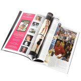Highquality  Softcover  Offsetdrucken-glattes Papier farbenreiches Magazine