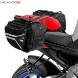 Maneton extensible de bagage de course au-dessus des sacs de selle de moto de Panniers