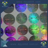 etiqueta feita sob encomenda do holograma do laser da segurança da alta qualidade 3D