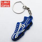 中国の工場価格の販売の昇進のための習慣によって結合されるビニールのスポーツ柔らかいPVC OEMの靴Keychain