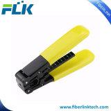 ファイバーのFTTHのための光学ドロップ・ケーブルのストリッパーのツール