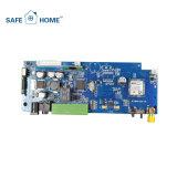 Sistema di allarme di GSM di obbligazione domestica della manopola automatica con la funzione di APP