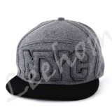 Jersey de Heather Grey Snapback Chapéus