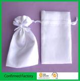 顧客用明白なサテンキャンデー袋のサテンのギフト袋