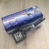 Blauwe/Rode Snijder e-003 van het Adreskaartje van het Handvat