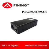48V Gigabit Poe для IP-телефонов, камер-33.6Вт IEEE 802.3на
