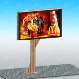 4X3m 옥외 LED 빛 코드 기치 간판 두루말기 게시판 광고