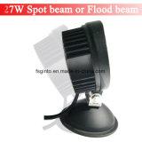 E-MARK 27W Epistar LED redonda de 4 pulgadas de la luz de trabajo para la carretilla/remolque (GT2009-27W)