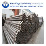 Maakte de Zwarte Koolstof ERW van de bouw & van het Water Mej. Steel Pipe Round Section in China