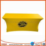 Exposition commerciale tissu imprimé de polyester Table