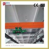 Einzelner Träger-einzelner Geschwindigkeits-Drahtseil-Hebevorrichtung-Brückenkran