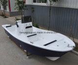 19FT 50HP het Grijze Jacht van de Vissersboot van de Glasvezel van de Boot van Panga van de Kleur