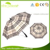 대중적인 인쇄된 자동차 열려있는 23inch 가득 차있는 섬유유리 지팡이 우산