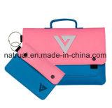 Kundenspezifische Großhandelsform-beweglicher dünner Frauen-Filz-Laptop-Beutel