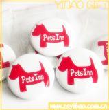 Insignia de botón Botón/estaño insignia con el logotipo impreso para regalo de promoción (YB-SM-02)