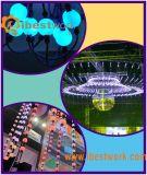 Licht van het LEIDENE DMX RGB Koord van de Bal