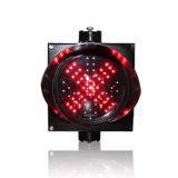 Sinal do diodo emissor de luz do sinal de trânsito do sinal 200mm da estação do pedágio