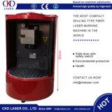 Машина маркировки лазера портативная пишущая машинка блоков развертки Galvo миниая для поздравительной открытки