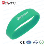 Braccialetto del silicone di Debossed RFID