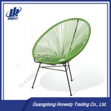 金属の管ベースが付いているPec02庭の藤の椅子