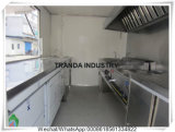台所装置のレストランの食糧トラックと顧客用