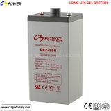 Gel de energía solar de la batería de almacenaje de la central eléctrica (2V 200AH)