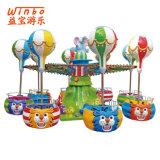 Счастливый Carousel игрушки детей оборудования спортивной площадки зрелищности малышей в торговом центре (C10)