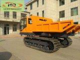 Marque Haiqin Crawler-Transporter hydr.Dumper (AC-6T) avec le bois d'une grue