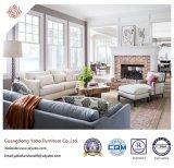 Mobilia fragile dell'hotel con il sofà del tessuto del salone impostato (YB-S-30)