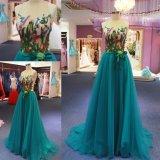 2018 популярных голубой валика клея дамы моды вечерние платья производителей одежды