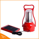 Indicatore luminoso di campeggio alimentato solare della lanterna della lampada esterna del Portable 35 LED