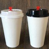 Café personalizado para ir a café caliente de vasos de papel para Café Cappuccino White