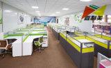 Fashion 120 Degré Station de travail de bureau en bois pour 3 personne