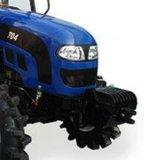 70HP Tractor de met 4 wielen van het Landbouwbedrijf van de Aandrijving van het Gebruik van de landbouw